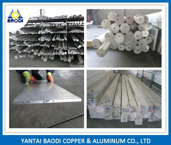 Aluminum Bar 6061 6082 T6 for Mould