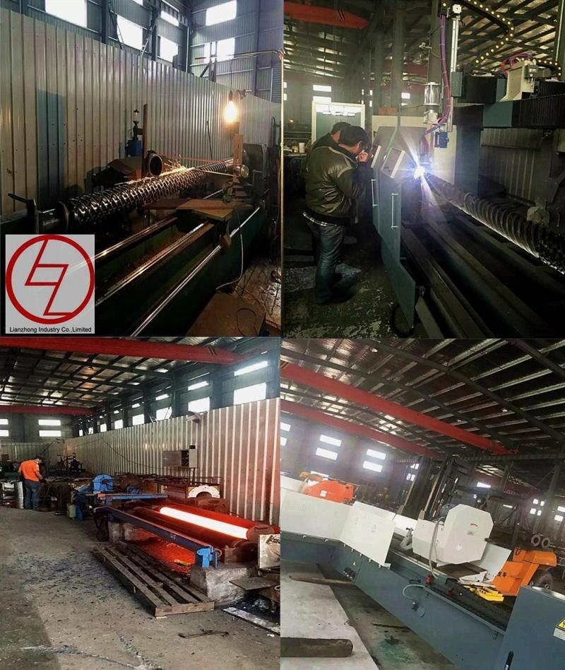 Bimetallic Screw Barrel for Injection Molding Machine / Injection Screw Barrel