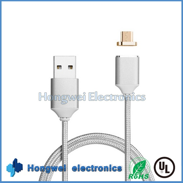 Android Micro Magnetic Adapter Charging USB Cable for Smart Phone Tablet