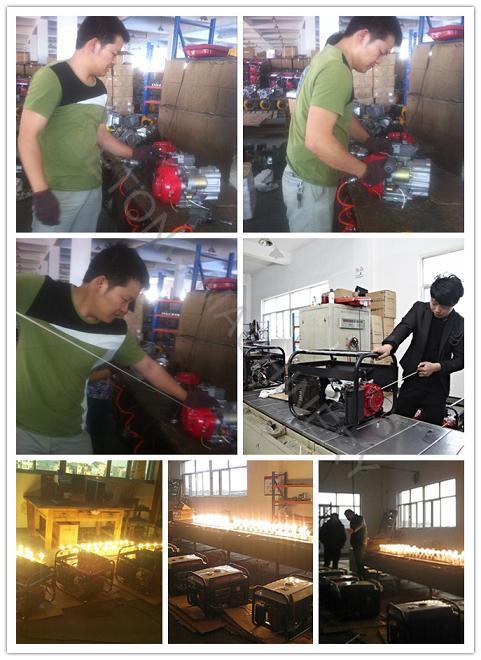 Petrol 6.5 kVA Power Generator Set