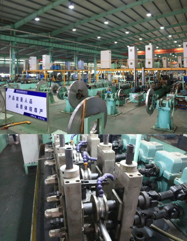 Steel Pipe Making Machine 304 316