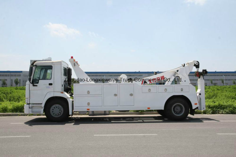 Heavy HOWO 4X2 8ton Road Rescue Tow Truck Wrecker Truck