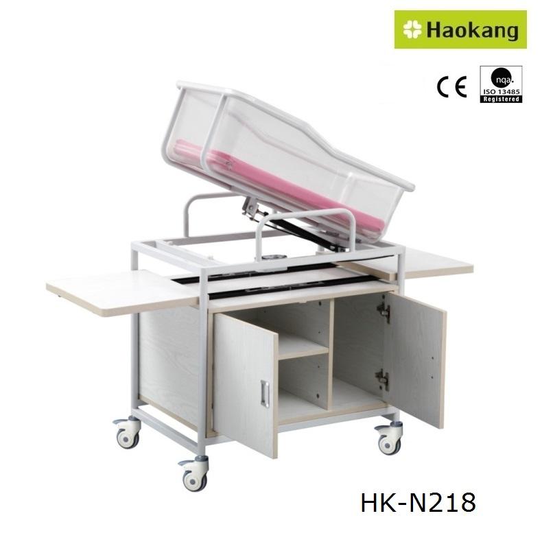 Hospital Furniture for Medical Stainless Steel Baby Stroller (HK502)
