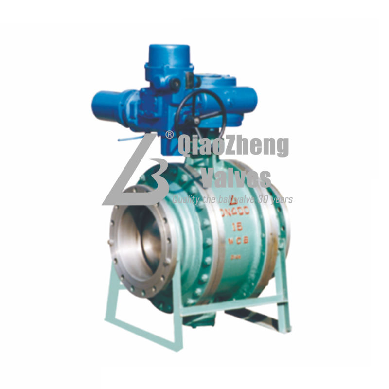Trunnion Mounted Electric Flanged Ball Valve Q947f