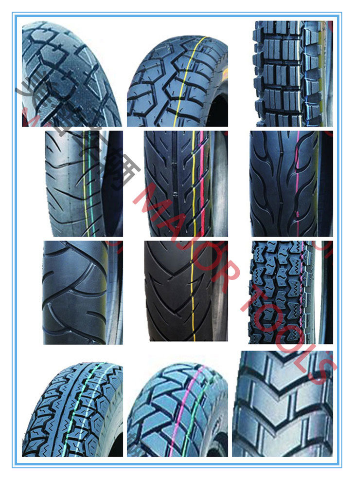 Full Range Sizes of Pneumatic Rubber Scooter Tyre