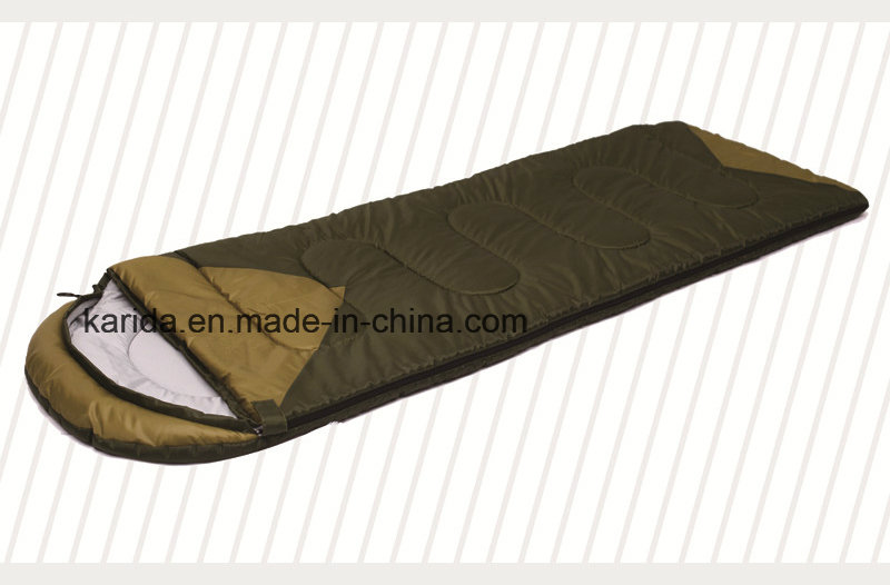 Camping Polyester Cap Envelop Sleeping Bag