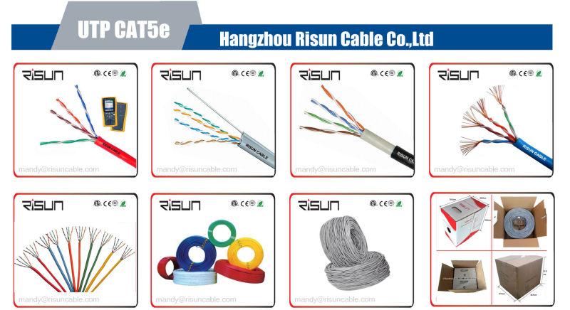 Double Jacket (PE+PVC) UTP Cat5e LAN Cable with 305m