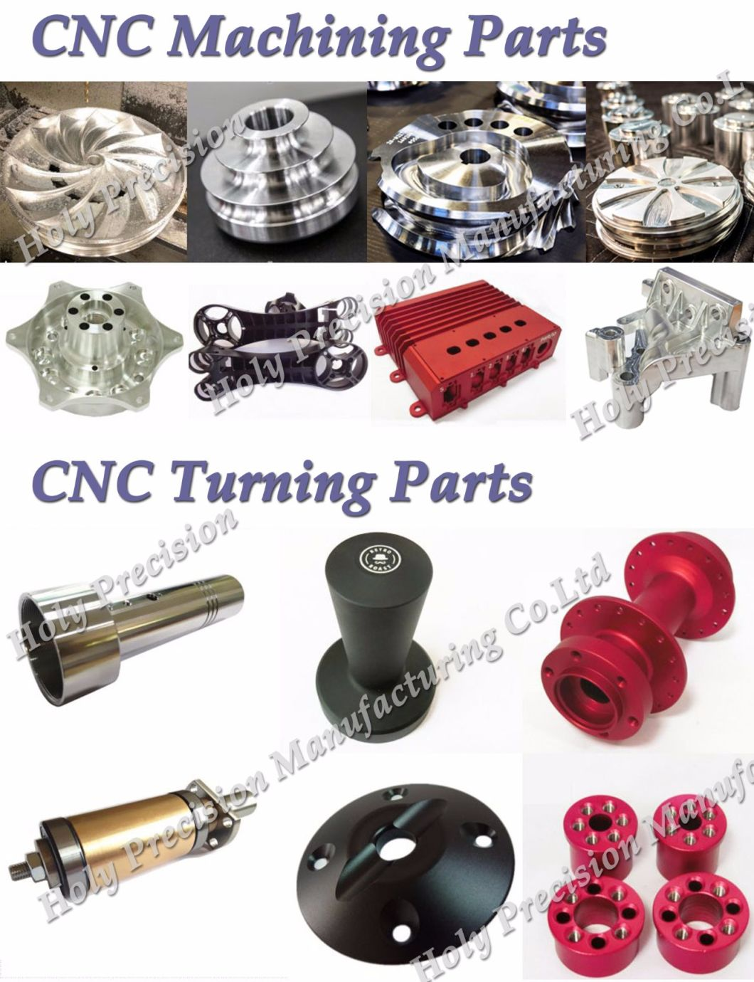 Hot Sale Machining Parts Precision Turned Parts Machine Components According to Drawings