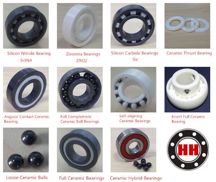 High Performance Full & Hybrid Ceramic Ball Bearings