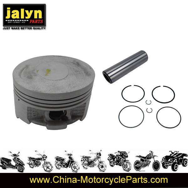 Motorcycle Piston Set with Rings and Pin for 150z 25A0_Dia13X46