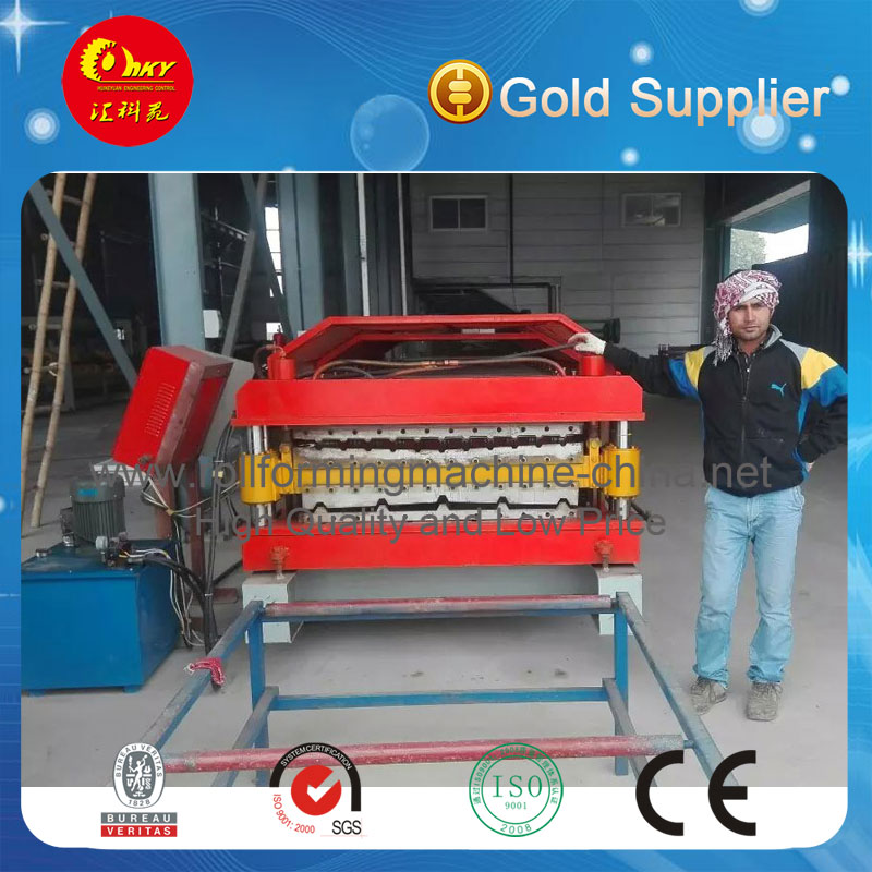 Hky High Quality Sheet Metal Roofing Rolling Machine