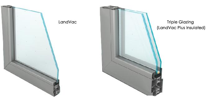 Landvac Wholesale 10mm Vacuum Decorative Glass for Windows Doors