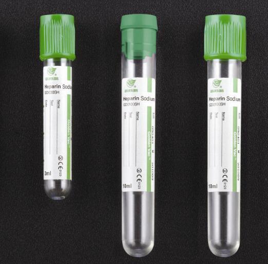 Vacuum Blood Collection Tube Sodium Heparin