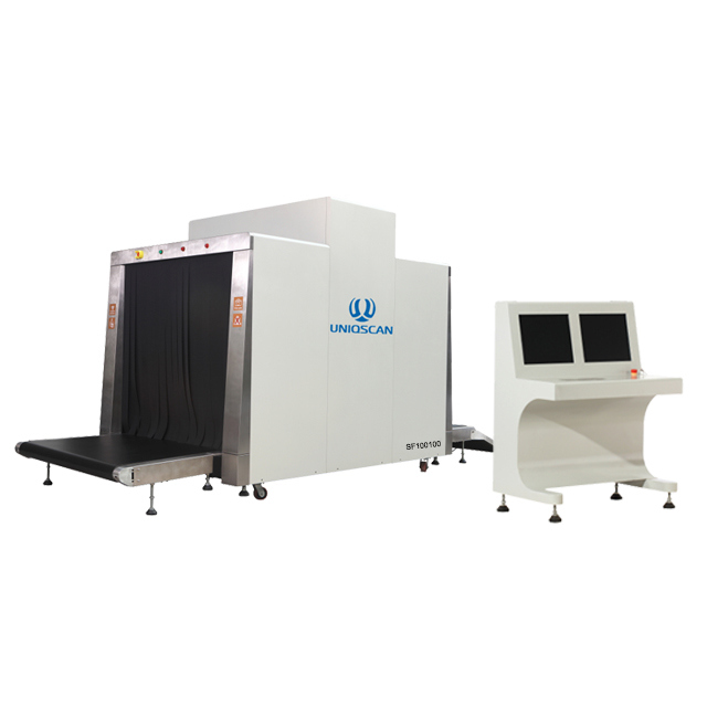 New Stainless Steel Security X Ray Luggage Screening Luggage Scanner 100100 for Airport
