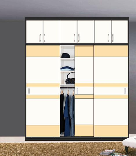 New Glossy Wooden Sliding Door Wardrobes (customzied)