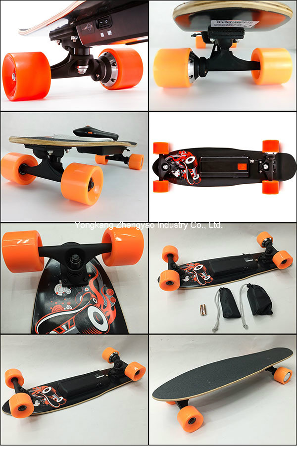 400W Lithium Best Electric Powered Skateboard with Remote