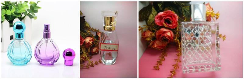 Heart Shape Glass Bottles for Perfume
