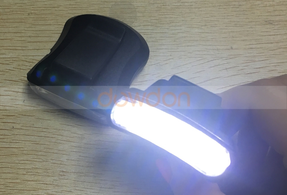 Portable COB LED Hat Lamp for Fishing Hunting Outdoor Clip on Cap Light