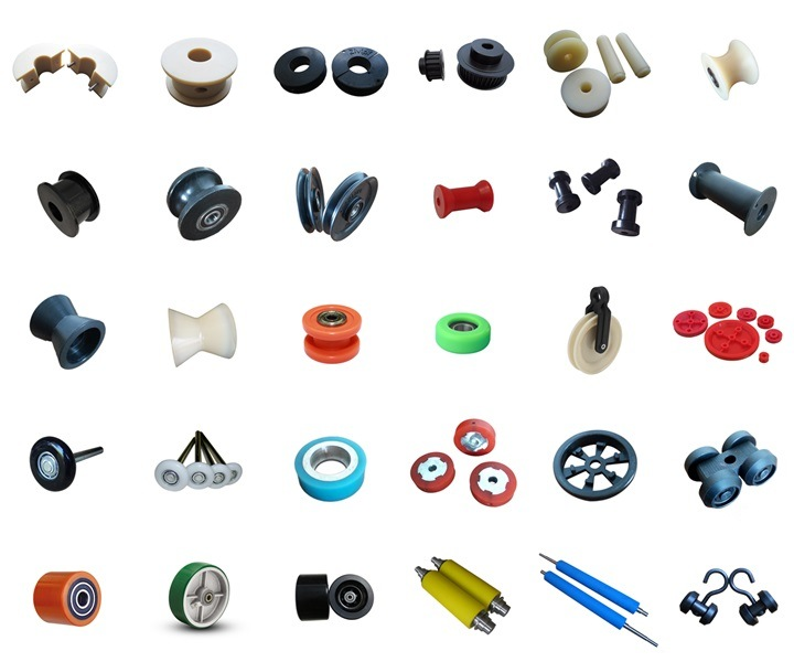 Replacement Medium Duty Small Caster / Mini Truckle / PVC Trundle / Nylon Castor