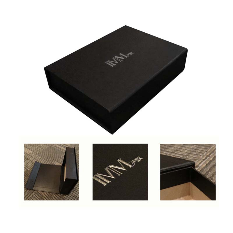 Cardboard Packaging Tool Box with Silver Stamping