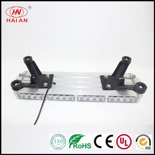 LED Mini Warning Light Bar/Ambulance Vehicle Strobe Lightbar with Aluminum Body Security Warning Lightbar/Emergency Fire Fighter Truck Caution Lights Bar