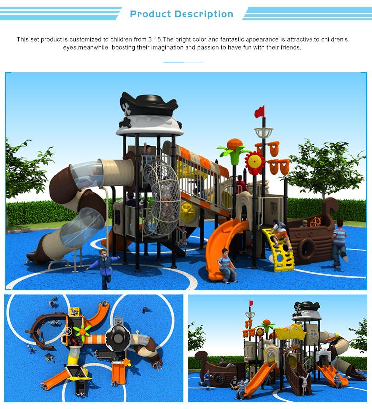 Different Size Outdoor Playground Slide