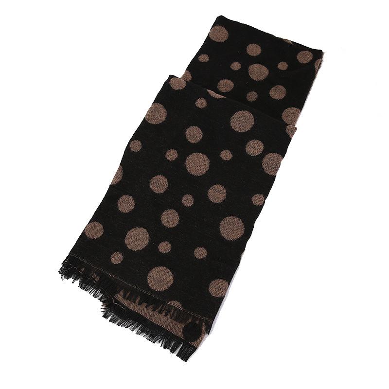 Womens Soft Cashmere Feel Alike DOT Printing Stole Shawl Wraps Scarf (SP279)
