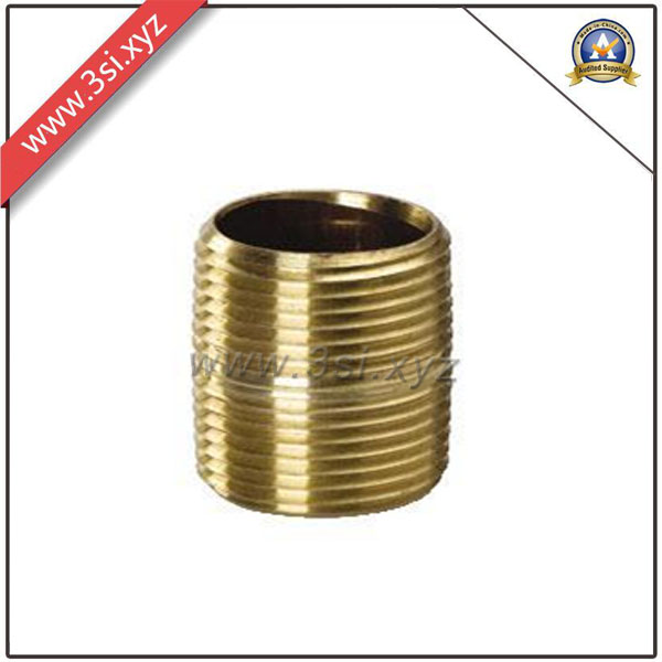 Quality ANSI B 16.11 Copper Male Thread Barrel Nipple (YZF-M559)