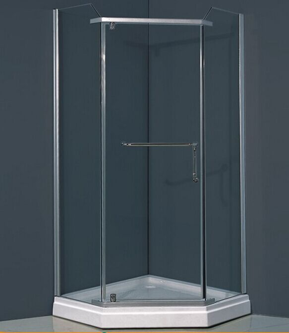 Diamond Tray Glass Shower Cabinet (ADL-8025)