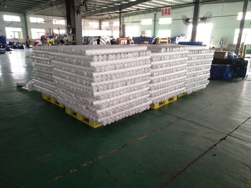 PE leno tarpaulin roll packing