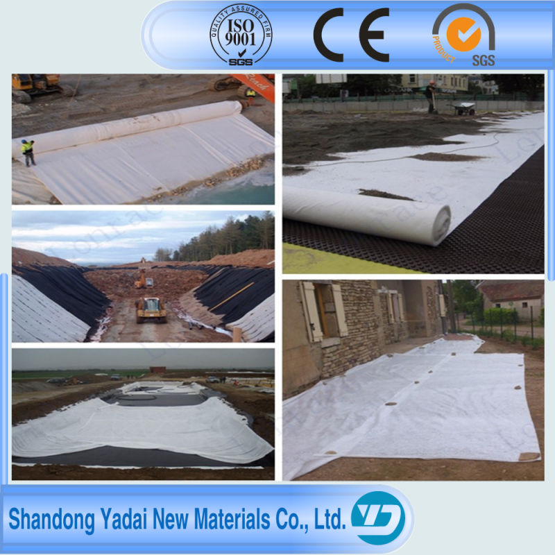 HDPE LDPE Geocomposite Geomembrane for Fish Pond/Domestic Waste Landfill