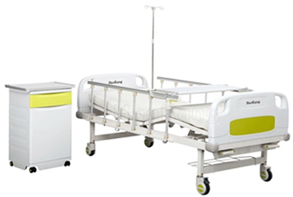 HK-N207 Two Function Manual Hospital Bed (medical equipment, hospital furniture)