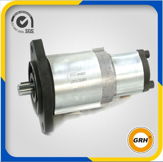 High Pressure Hydraulic Double / Tandem Oil Pump for Sale (CBQ-E14/A2.5)