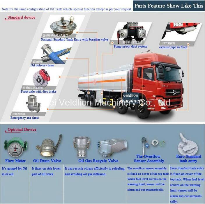 6, 000 Litres to 8, 000 Litres Fuel Truck