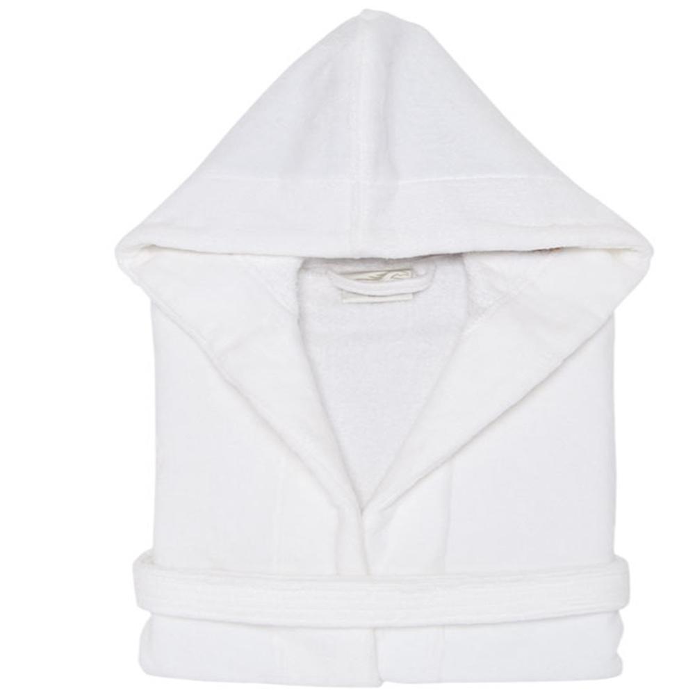Luxury Cotton White Hotel/SPA/Home/Nursing/Hospital Bathrobe
