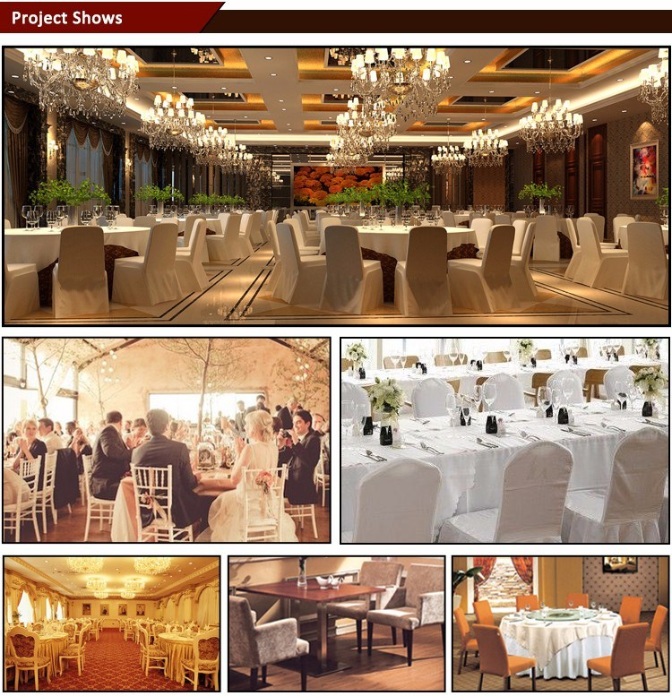 Wholesale Hotel Chair Cover for Wedding