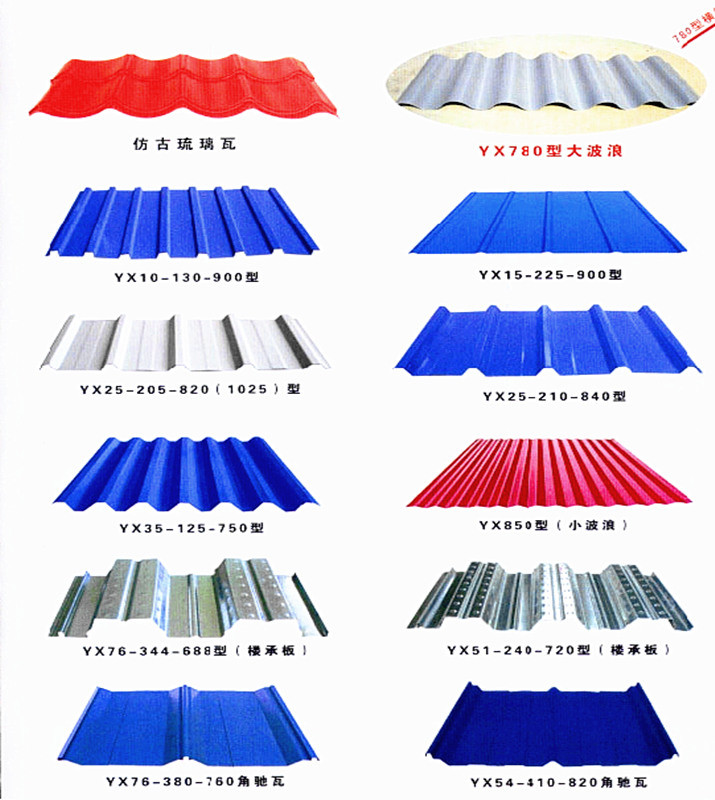 Prepainted Galvanized Corrugated Steel Roofing Sheet with ISO Certificate