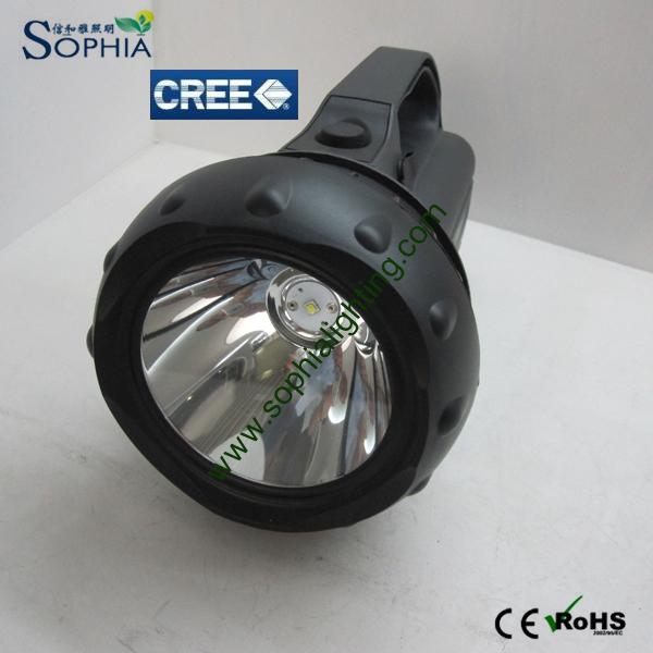 High Lumen 30W CREE LED Handhold Lamp First Responder Lighting
