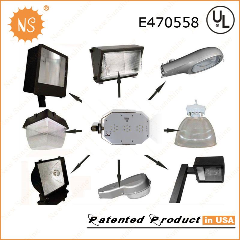 175W Parking Lot Lamp Replacement E39 E26 60W LED Retrofit Lighting