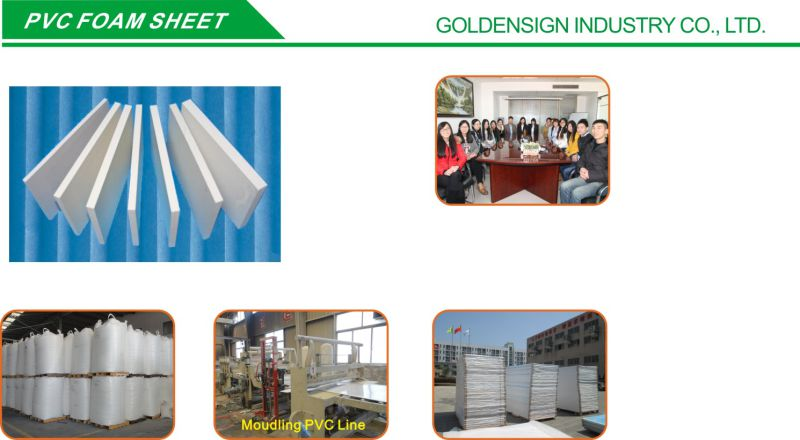 Pure White PVC Foam Sheet (Hot size: 1.22m*2.44m)