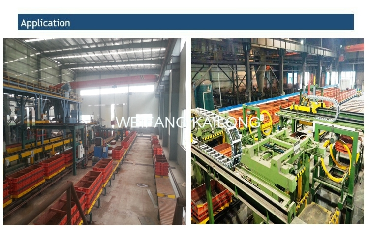 High Quality Casting Moulding Machine Moulding Flask Foundry Equipment