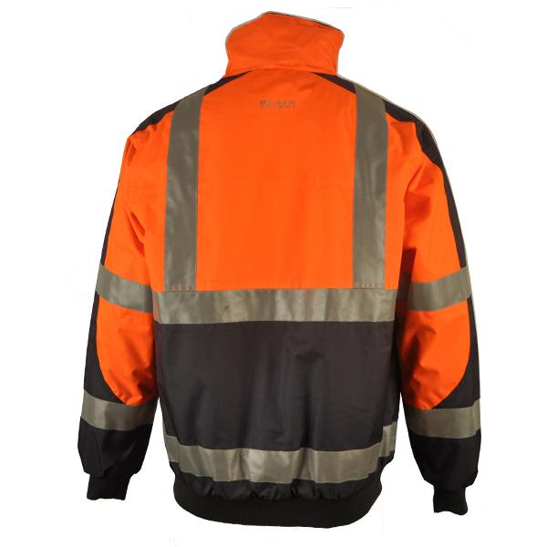 Men Winter Waterproof Hi-Vis Padded Bomb Jacket