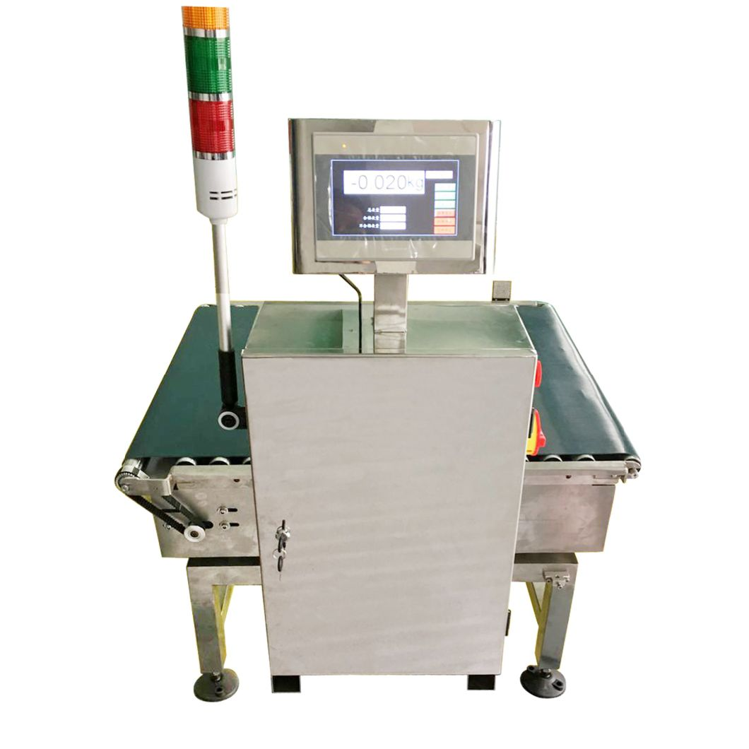 Hot Sale Check Weigher Weight Sorter. in Motion Checkweigher