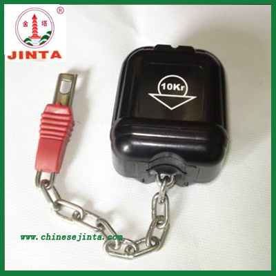 Zinc Alloy Supermarket Shopping Cart Lock (JT-107HN)