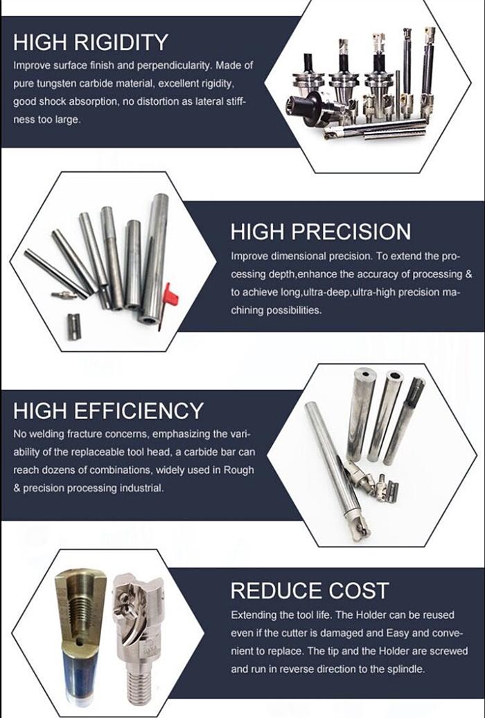 Carbide Tool Holders for CNC Machine