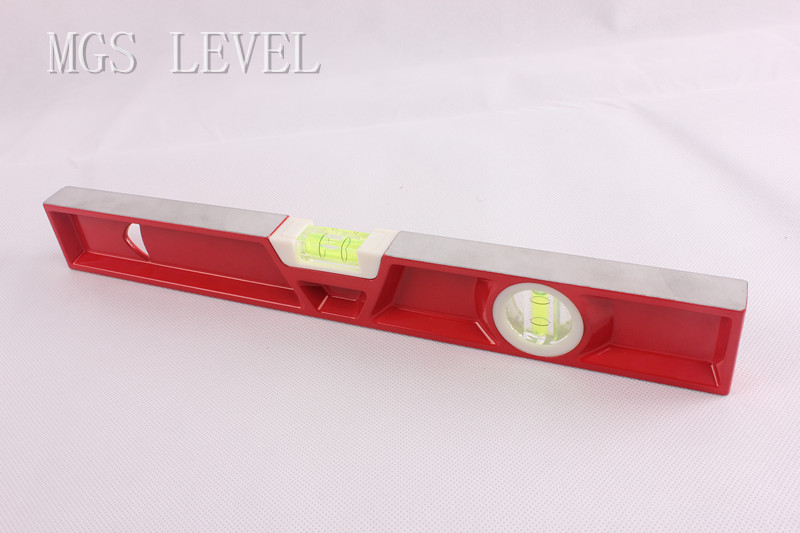 Aluminum Heavy Duty Casting Level -700703 400mm-Red