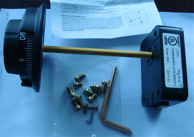 Safe Box Lock, Safe Lock, Combination Lock (AL-106, 306, 506)