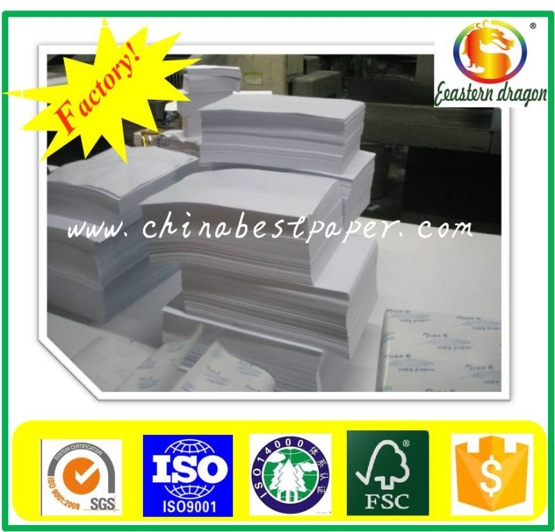 Brightness ISO 98% 75GSM Copy Paper/Office A4 80GSM