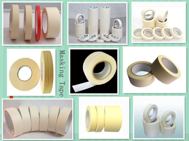 Indoor Painting Crepe Paper Masking Tape