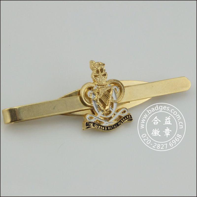 Fish Shape Tie Clip, Custom Badge (GZHY-LDJ-029)